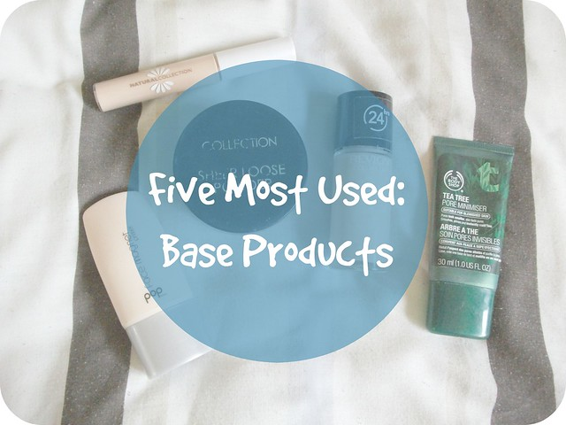 Five Most Used Base Products