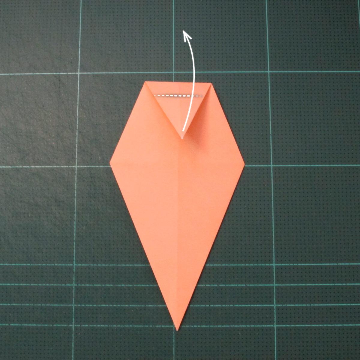 วิธีพับกระดาษเป็นรูปปลาโลมาแบบง่าย (Easy Origami Dolphin) 007