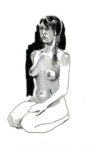 life drawing at Redline