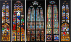 Stained Glass, Zagreb Cathedral, Kaptol, Zagreb