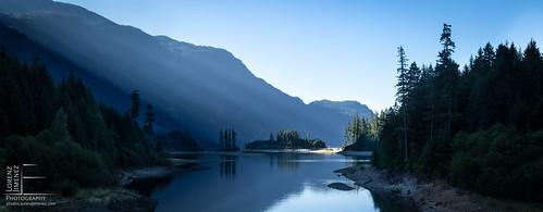 canada water forest sunrise island bc britishcolumbia vancouverisland strathconaprovincialpark buttlelake