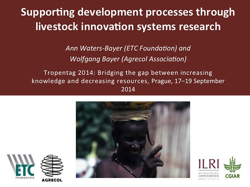 Supporting development processes through livestock innovation systems research: Slide 1