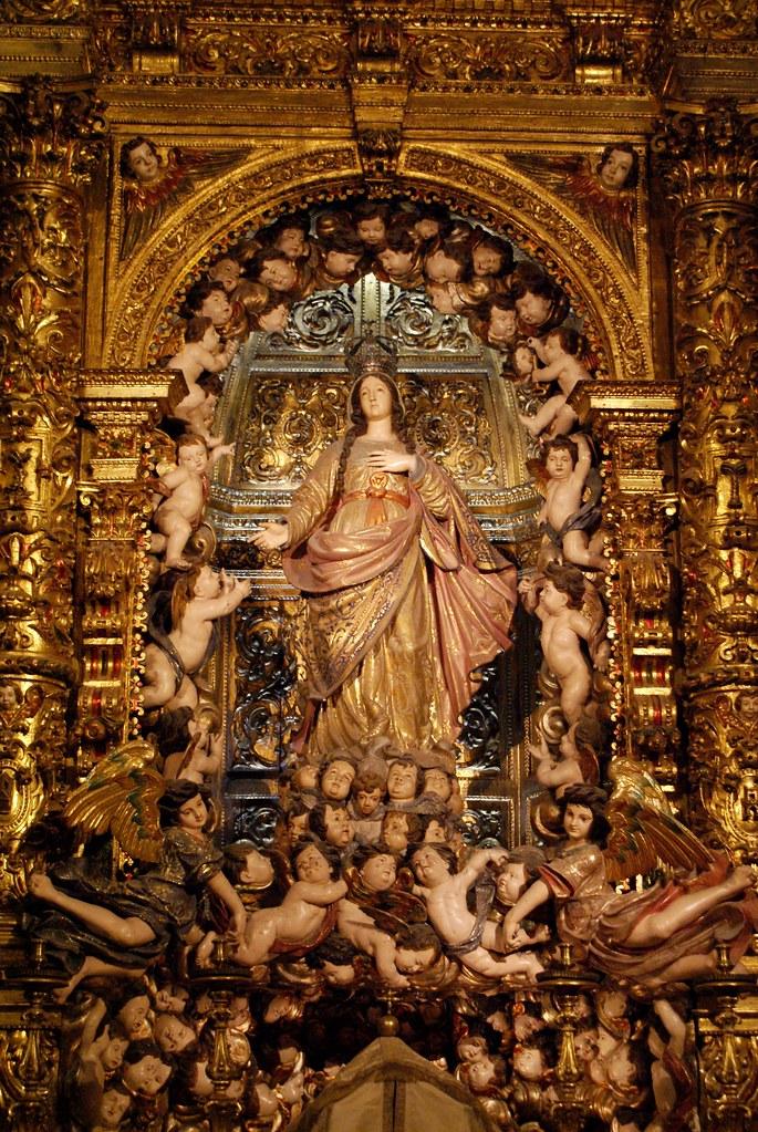 Choeur hallucinant de l'église Igreja de São Roque à Lisbonne