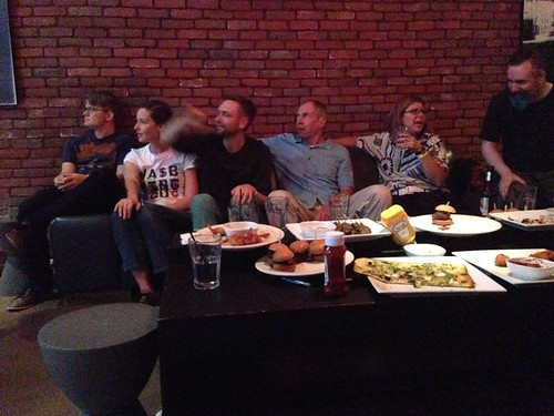 TypeCon 2014: After Party with bowling and a little billiards.