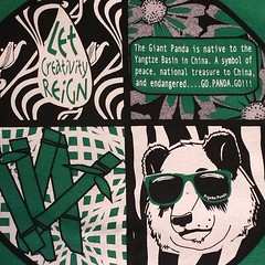 Save the Panda's!!! A portion of all Psycho Panda Streetwear proceeds go to FONZ(Friends of the National Zoo) for the protection and conservation of the Giant Panda. Go Panda Go!!!! Don't forget to get the latest goodies in the Psycho Panda webstore! Than