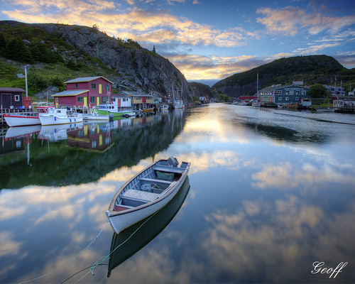 canada tower tourism sunrise newfoundland boat fishing hill stjohns nl cabot vidi travell quidi singal