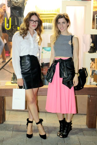 Emily Suresh and Jenelle Witty at Perlu launch