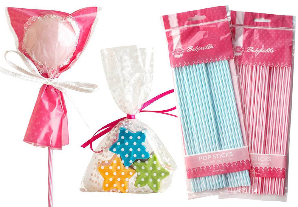 Bakerella Treat Bags and Sticks