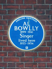 Photo of Al Bowlly blue plaque