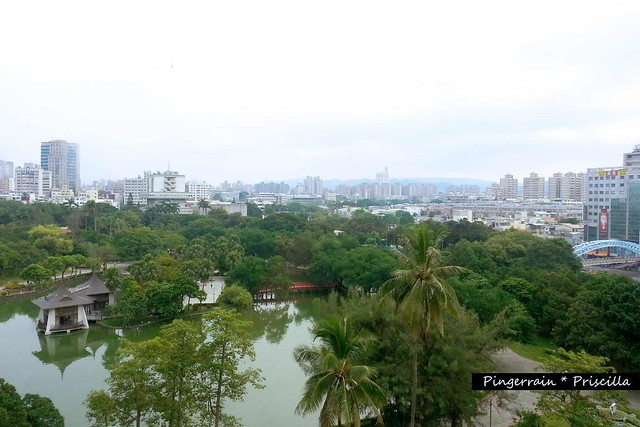 View of Taichung Park from the room