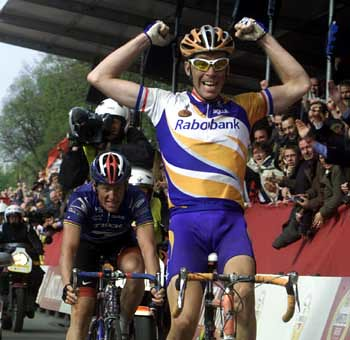 Amstel 2001 - Dekker su Armstrong
