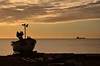 20140818-13_Silhouetted Boat _ Deal Beach at Dawn