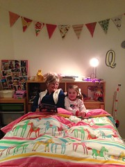 Bedtime books with Nanny