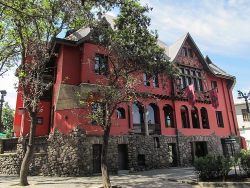 Santiago: un hôtel-boutique du quartier Bellavista