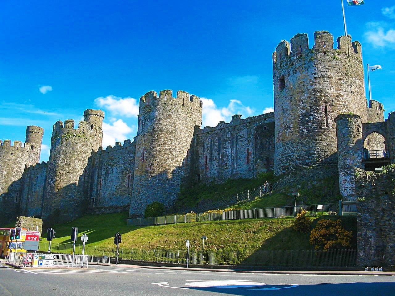 Conwy Castle. Credit dbenbenn