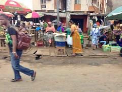 Street market scene in Lagos, Nigeria. #JujuFilms
