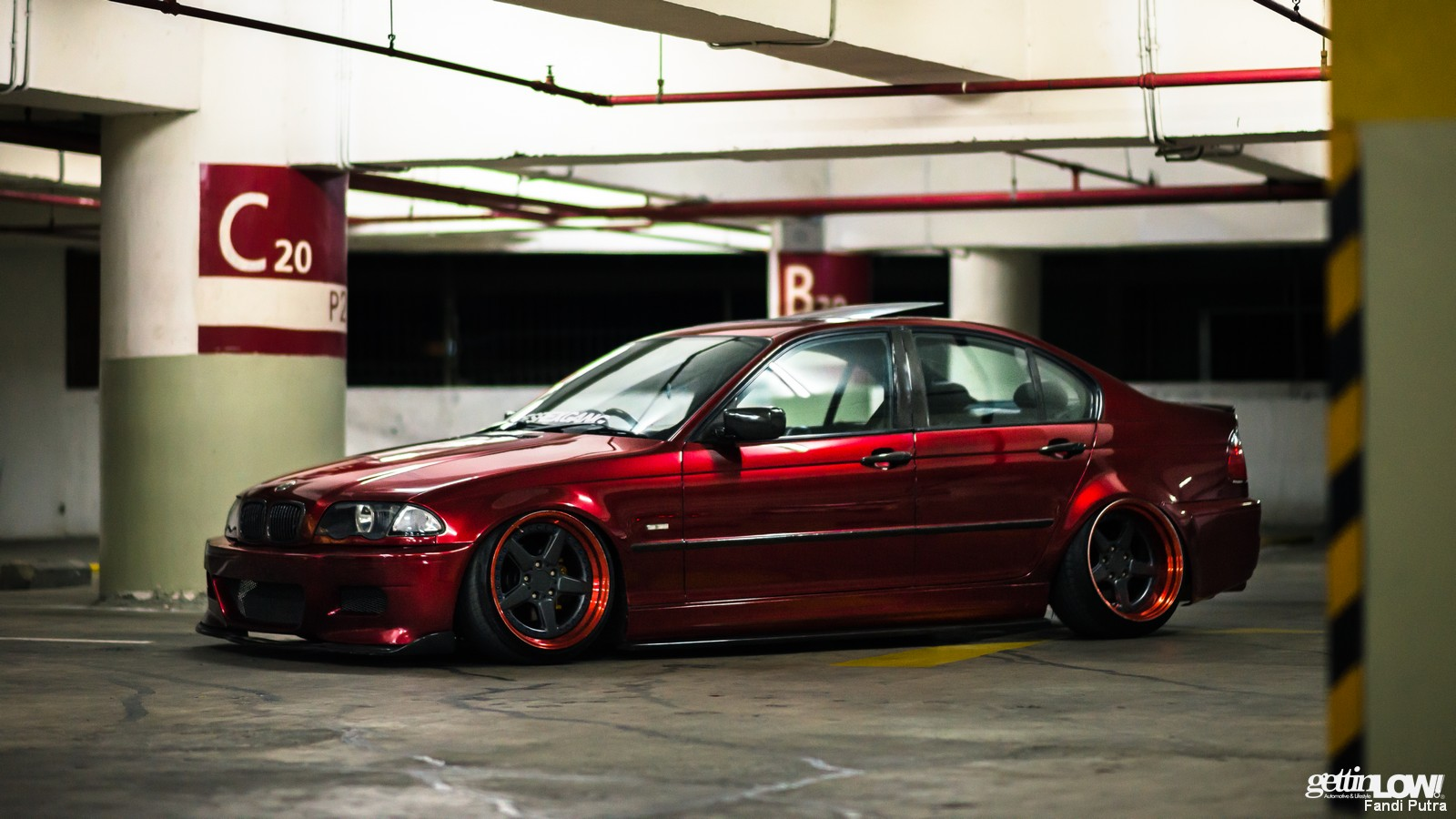 Dendy Apriyandi Bagged BMW E46 318i