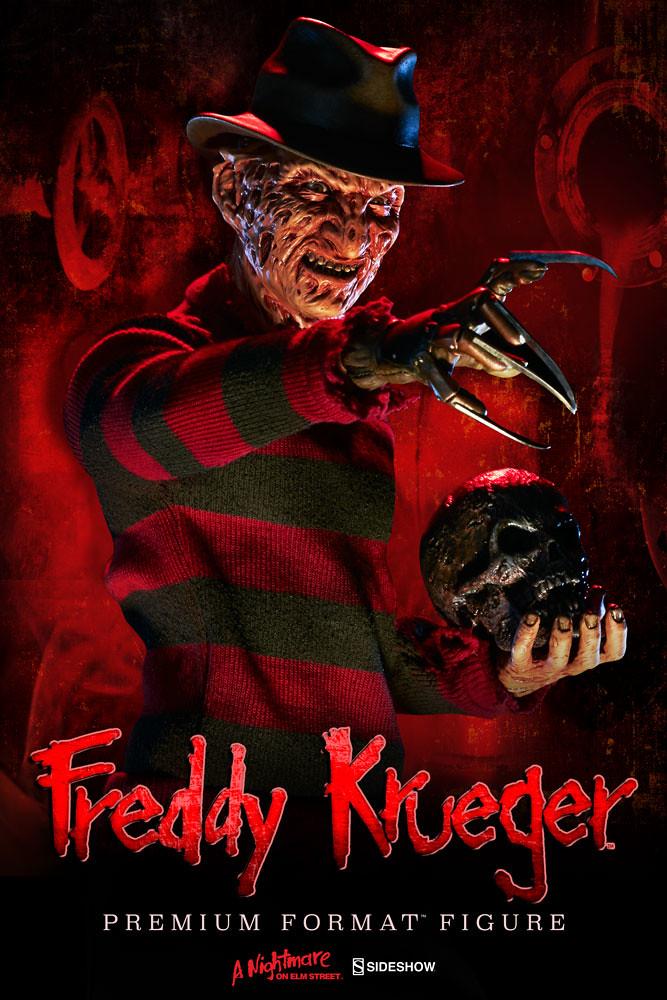 Sideshow Collectibles【夢魘鬼王佛萊迪】Freddy Krueger 1/4 比例 全身雕像