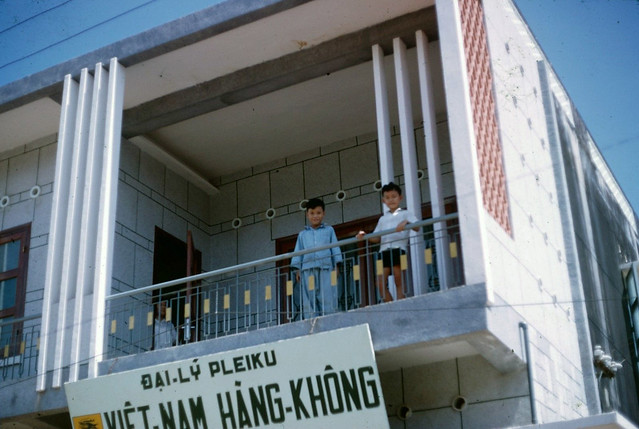 PLEIKU 1966-67 - Đại lý Việt-Nam Hàng-Không