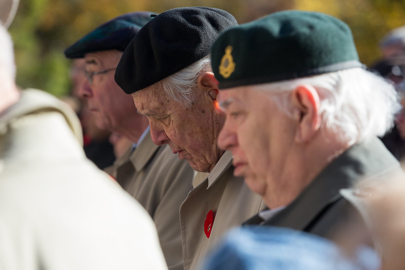 On Nov. 11, 2016, the university community observed Remembrance Day services on all three campuses to honour the faculty, staff, alumni and students who served.  (Photos by Alison Dias, Blake Eligh, Ken Jones and Johnny Guatto)