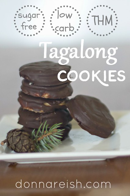 Sugar Free Tagalong Cookies