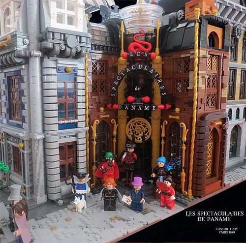 Paris 1889 Steampunk [WIP8] - Les spectaculaires de Paname