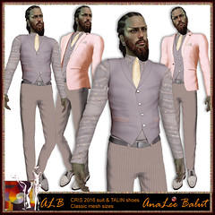 ALB CRIS suit & TALIN shoes - Classic sizes - PRELOOK Advent Calendar by AnaLee Balut