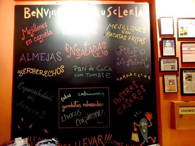 muscle muscleria restaurante barcelona