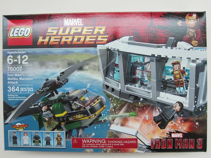 LEGO - 76007 - Super Heroes - Iron Man Malibu Mansion Attack