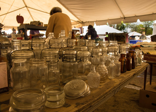 Brimfield - Jars for Sale