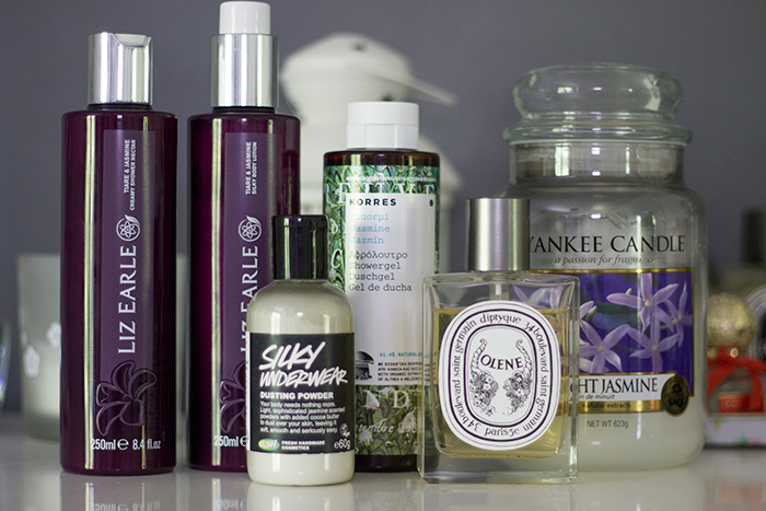 Jasmine Scented Beauty Products