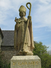 Statue of Saint Caradec