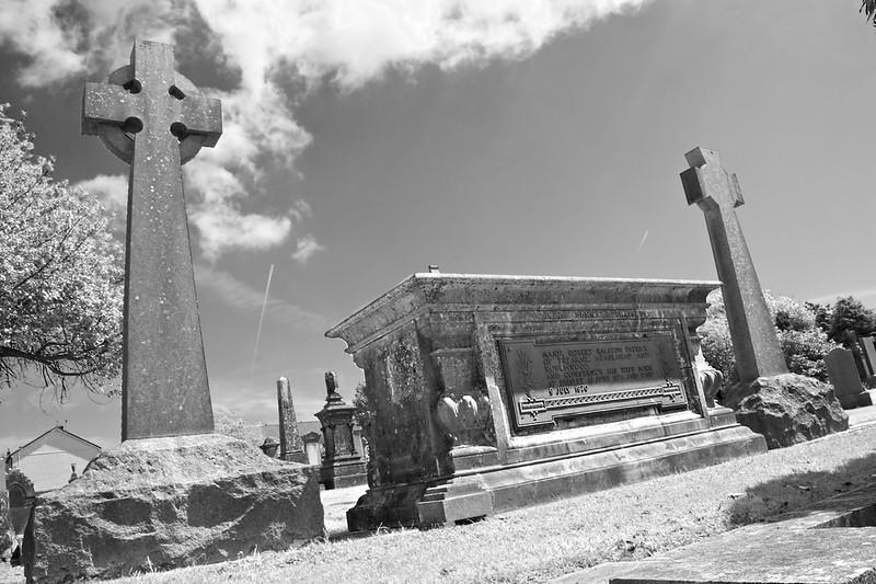 Beith Cemetery Kings Rd Major Robert Ralston Patrick