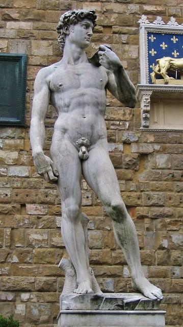 David di Donatello in piazza della Signoria (Firenze ...