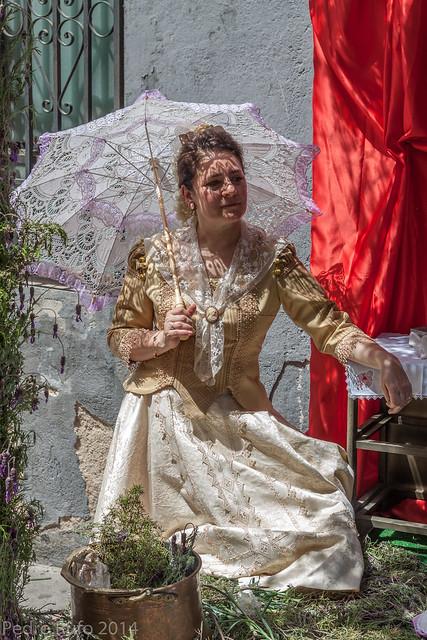 Fiesta de los mayos, traje goyesco