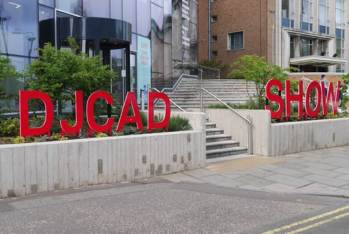 DJCAD Degree Show 2014 - Outside