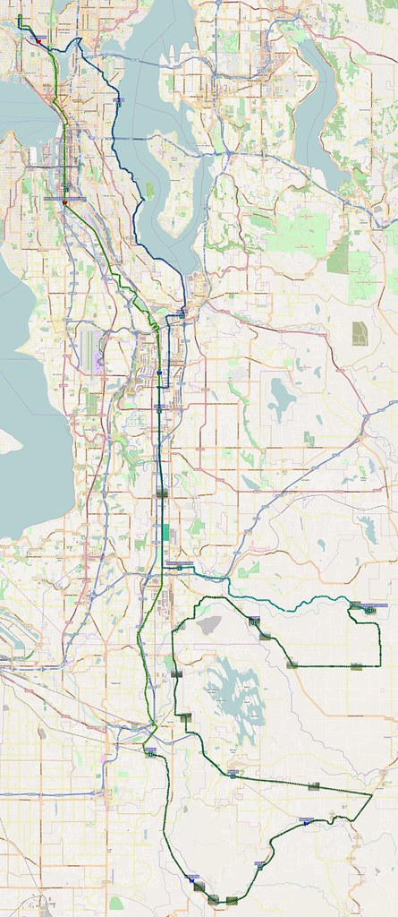 Map: 135 miles