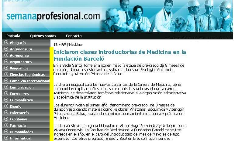Site Semana Profesional 16-05-14