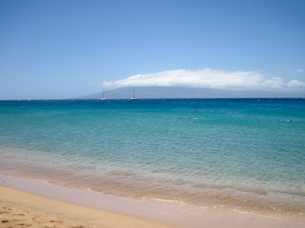Beautiful Kaanapali Beach, Maui