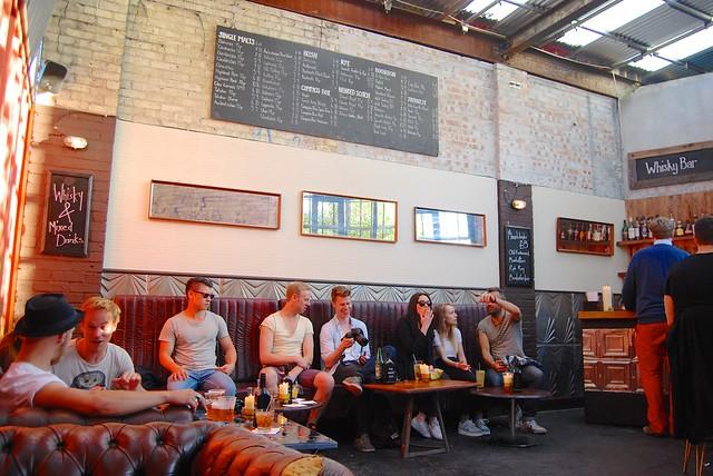 Whiskey Bar Street Feast London