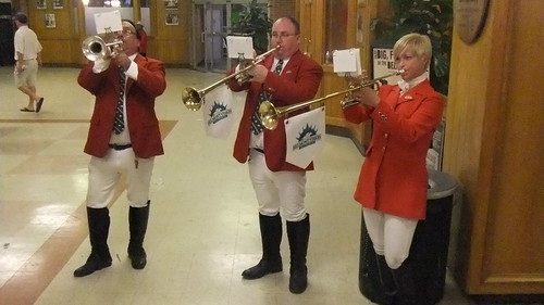#SnapShot | #SamTheBugler And His Crew Put On A Show After The Final Race