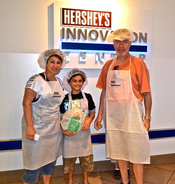 Create Your Own Chocolate Bar - Chocolate World Hershey PA USA