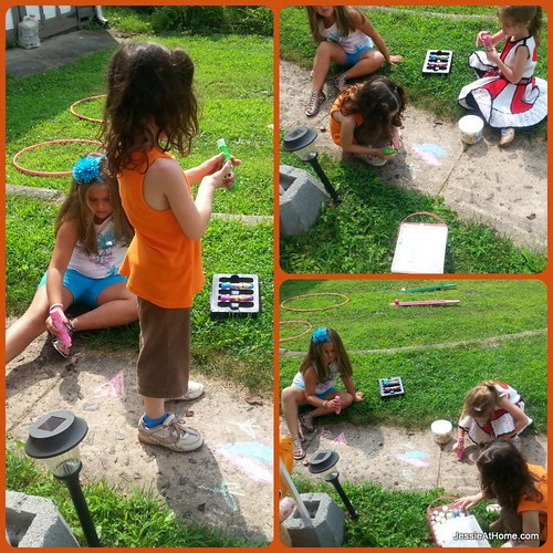 Sidewalk-chalk-art-Seventh-Birthday