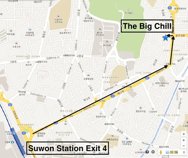 Big Chill Directions