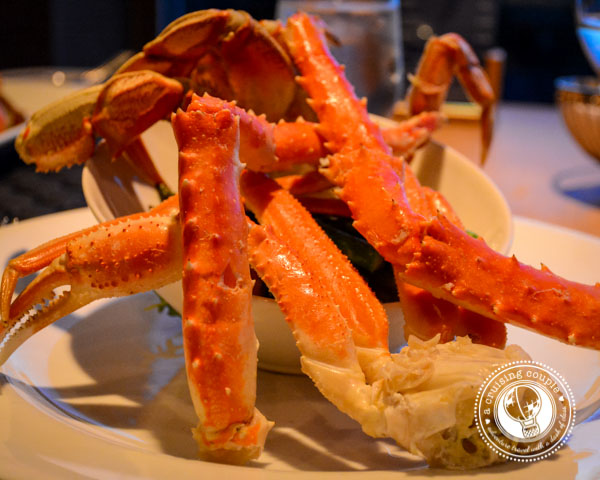 Crab at Blue Crab Restaurant Victoria