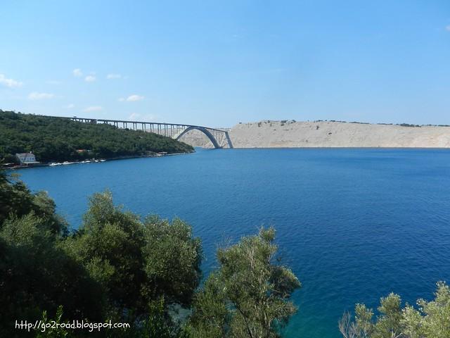 Крк, автомобильный мост