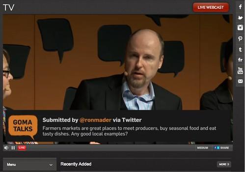 GOMA Talks Harvest 07.2014 #GOMATalks