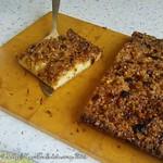 Rezepte mit Stachelbeeren: Stachelbeerkuchen mit Hasenusskrokant #ichbacksmirselbst