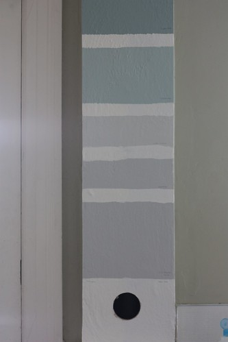 Paint Samples, South Wall