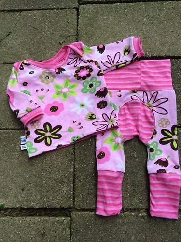 Bumstoppers BumSpot Pants 0-6 months 0-3 Lap Tee Perfeck Pink